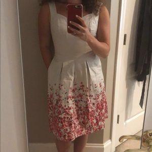 WHBM Sweetheart fit n flare dress